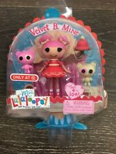 Lalaloopsy Mini Doll Velvet B. Mine Valentines Day Target Exclusive NEW
