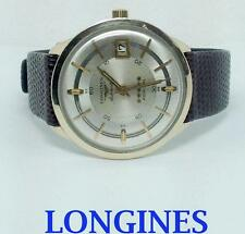 10k GF LONGINES ADMIRAL 5 STAR Automatic Watch 1960's Cal 501* EXLNT SERVICED
