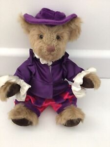 """LOVELY VINTAGE PAST TIMES BENEDICK FULLY JOINTED TEDDY BEAR 10"""""""