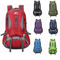 Outdoor 45L Hiking Bag Camping Travel Rucksack Mountaineering Backpack 7 Colors