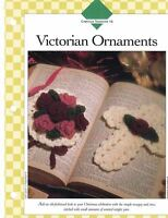Victorian Ornaments Crochet Single Pattern Vanna White Nosegay & Cross