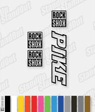 RockShox PIKE Decals / Stickers - Hollow Version - Custom / Fluorescent Colours