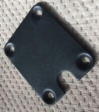 1989 Peavey Foundation S Bass Guitar Original Black Neck Plate Made in USA