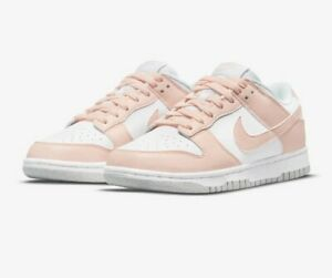 Nike Dunk Low Next Nature White/Pale Coral UK 7.5