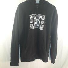 DC Men's Medium Black Zip-Up Jacket
