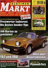 1056OM Oldtimer Markt 1998 6/98 Marusho Kadett Aero Peugeot 203 Buggy Karmann GF