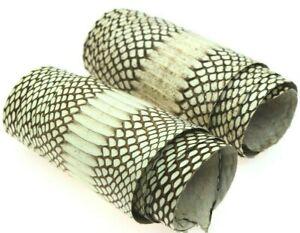 Asia Cobra Snake Skin Hide Leather Snakeskin Craft Supply Natural Glossy