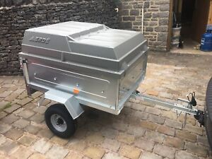 BRAND NEW Erde 122 Camping trailer with lockable ABS lid and hydraulic strut