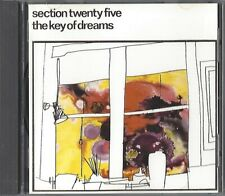 SECTION 25 / THE KEY OF DREAMS (SECTION TWENTY FIVE) - CD 1991