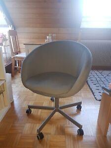 SKRUVSTA Ikea Büro- und Drehstuhl, Vissle grau. Höhe verstellbar. Wie neu.