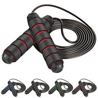 10ft Adjustable Boxing Skipping Rope Fitness Training Adult Jumping Speed Ropes.