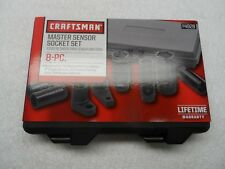 Craftsman 8PC Master Sensor Socket Set Mechanics Tool Oil Oxygen - Part # 4928