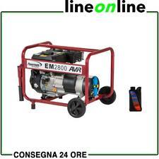 Generatore di corrente 2,5 Kw Pramac EM 2800