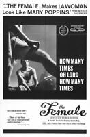 G3259 Female Seventy Times Seven Movie Vintage Laminated Poster FR