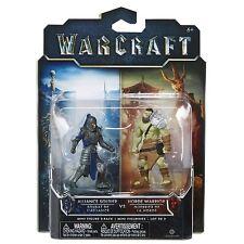 Warcraft Mini Figura 2 Pack-Alianza soldado vs Horde Warrior * Sellado *