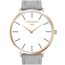Lord Andrew Chronos - Ash & Gold Edition - Luxury Minimalistic Watch