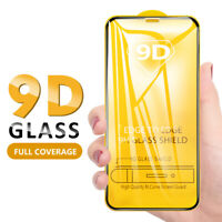 9D Full Tempered Glass Screen Protector For iPhone 11 Pro Max 6s 7 8  X XR XS Sw