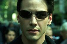 The Matrix Fashion Cool Neo Style Polarized Men Sunglasses Ultralight Rimless HQ