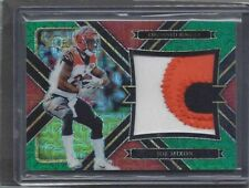 JOE MIXON 2017 PANINI SELECT GREEN MOJO PRIZM 3 COLOR ROOKIE PATCH RC #D 3/5