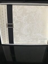 Hallmark Guest Book. Ivory/Black. NIB.Perfect Condition Perfect For Any Occasion
