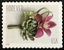 2020 Scott #5457 - Forever - CONTEMPORARY BOUTONNIERE WEDDING - Single Mint NH