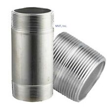 "3"" x CLOSE (2-5/8"") NPT Seamless Pipe Nipple S/40 ALUMINUM 6061-T6 <AN1110011"