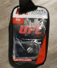 UFC Ultimate Kombat MMA 5 oz Fitness Gloves Brand New S/M