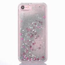 Liquid Glitter Water Stars Bling Sparkly Back Case For Various Apple Samsung