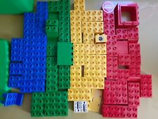 Vintage Lego Duplo Blocks Mixed Lot of 75 pcs door chair Specialty Print Bricks