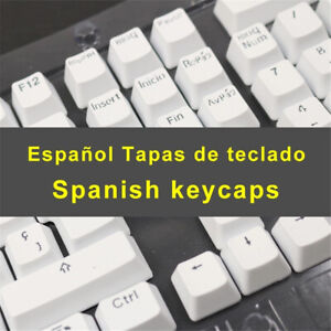 105 keycaps Spanish Keycaps for Mechanical Keyboard Compatible with MX Switches