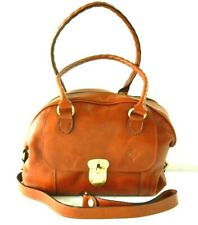 New Listing*Nwt* $249 Patricia Nash Leather Heritage Kavala Satchel Handbag Tan/Brown
