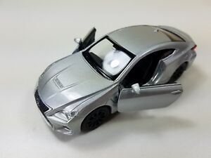 """Lexus RC F Die cast 1:34 Welly Collectible Pull Back Action 4.75"""" Silver"""