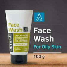 Ustraa face wash for oily skin clear ance 100g | Free Shipping worldwide