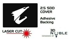 BLACK - AORUS - 2.5inch SSD/HDD SATA Hard Drive Cover Plate INTERNAL SOLID