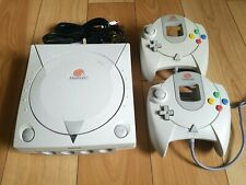 DreamCast Console HKT-3020 system Controllers HKT-7700 AV & Power cables TESTED