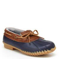 Women's JBU by Jambu Gwen Garden Ready Rain Duck Shoes - Navy/Whiskey Solid