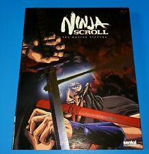 Ninja Scroll Movie (Blu-ray) Embossed Slipcover Rare Best Version Classic Anime