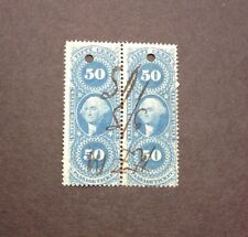 US Revenue VF  50c Pair