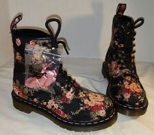 NEW DR MARTENS WOMEN'S 11821 VICTORIAN FLOWERS CANVAS BOOTS AIR WAIR US 5 UK 3