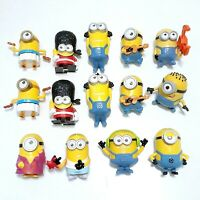 MINIONS McDonalds Happy Meal Toys - Despicable Me McDonald's Toy Bundle