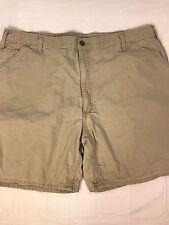 Carhartt Carpenter Shorts Men's 42 Beige Cotton