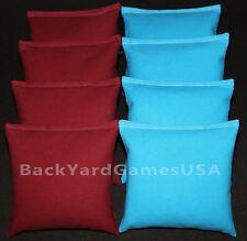 Redskins Gophers Arizona CORNHOLE BEAN BAGS Maroon /& Yellow 8 All Weather Resin