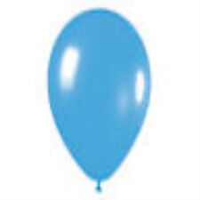 12 Fashion Blue Latex Balloons Helium Grade 11 Inch