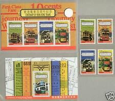 Hong Kong 2004 Centenary of HK Trams Stamps + 2 S/S
