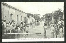 San Juan Bautista Flood Calle de Castille Tabasco Mexico 1909