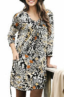 Ladies UK Plus Size 26 - 30 Stretchy Long Tunic Top with Pockets
