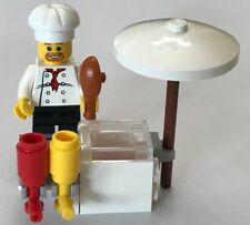 *NEW PIECES*  Lego 8398 Minifig Accessory BBQ STAND Kechup Mustard *NO BOX*