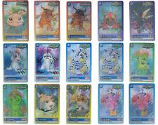 Card Digimon serie completa 15 pezzi