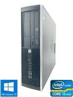 HP Elite 8300 SFF - 500GB HDD, Intel Core i5-3470, 8GB RAM - Win 10 Pro
