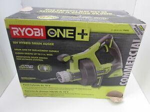 Ryobi One+ 18V Hybrid Drain Auger (Tool Only)